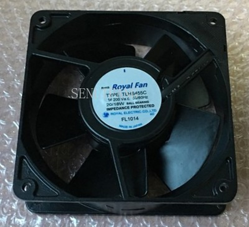 For TLHS455C All-metal Fan With Sensor 200VAC 120*120*38mm