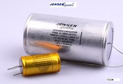 Denmark Jensen Audio Signal Capacitors Alu-foil speaker divider dedicated capacitor Copper foil and aluminum foil free shipping