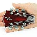 Guitarra vermelha Fivelas Fivelas de Cinto Fivelas de Cintos Para Homens Novos Do Vintage de Boa Qualidade Nova Moda