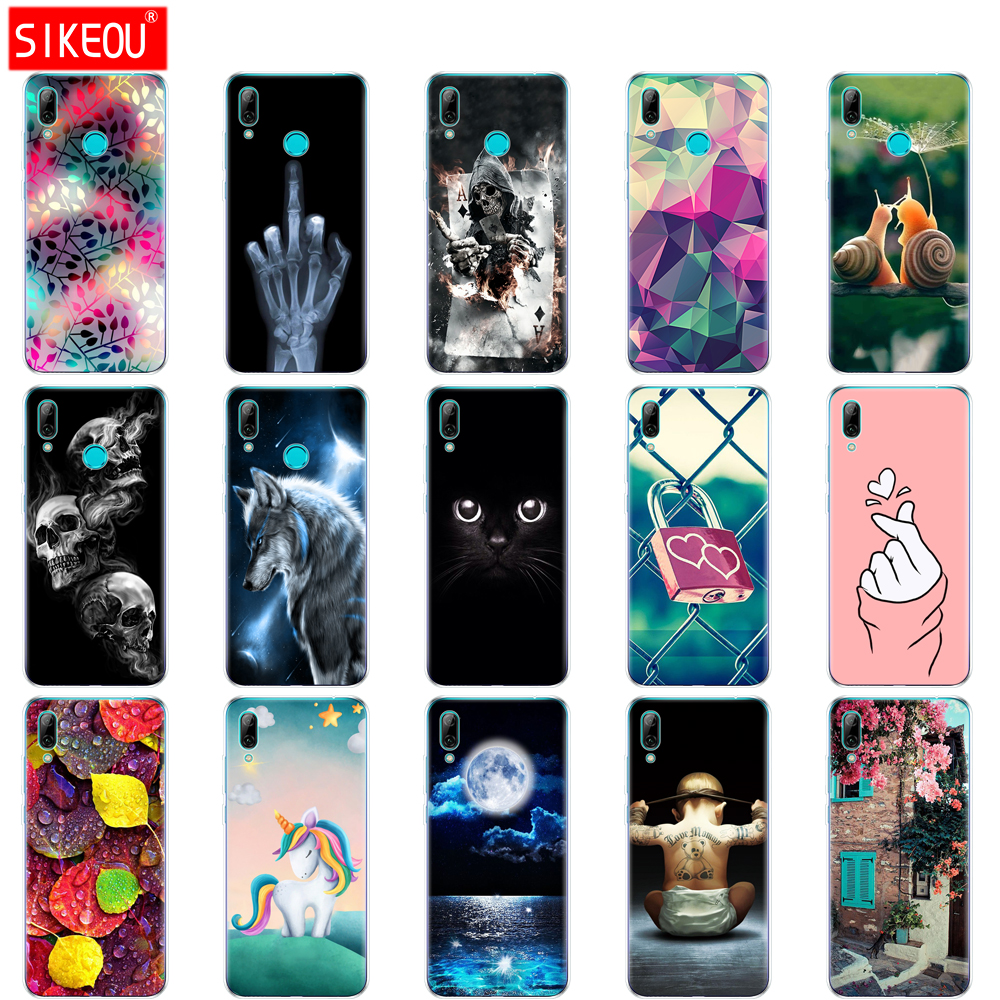 for Huawei Y7 2019 Case Huawei y7 pro 2019 SiliconTPU Cover Soft Phone Case on Y7 2019 Y 7 Y7Prime Y7 Prime 2019 global version