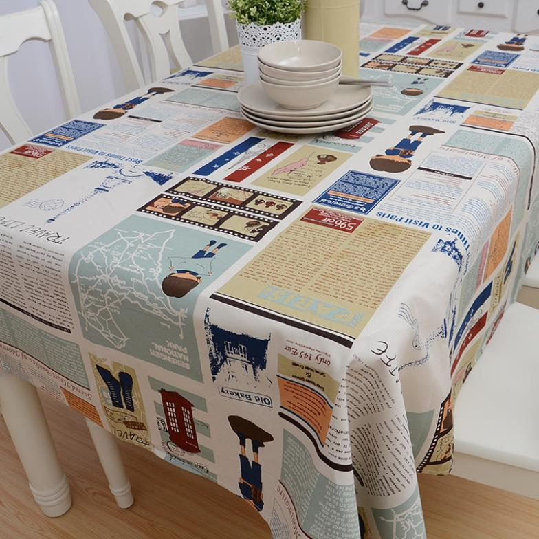 2015 Europe Woven Home Hotel Rushed Wedding Tablecloth Mantel De Mesa Ikea  Coffee Table Cartoon Tablecloth Cover Special Custom In Tablecloths From  Home ...