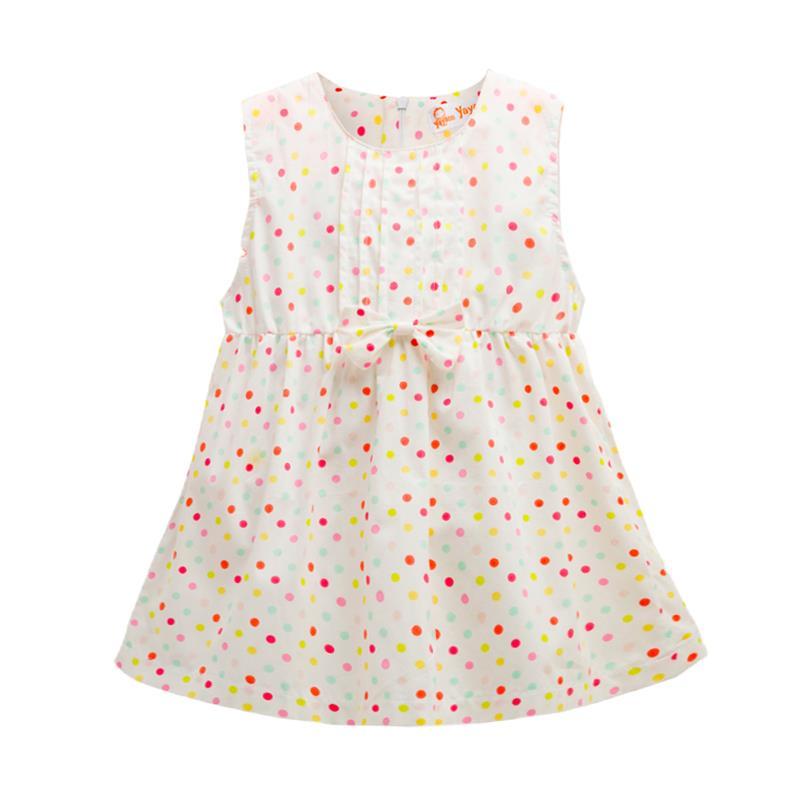 Hot Brand Baby Girls Dresses 2018 New Cotton Sleeveless Summer Baby Dress Casual Newborn Princess Clothing Bow Infant Costume