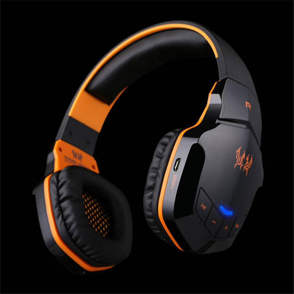 KOTION EACH B3505 Беспроводная Bluetooth 4,1 Стерео игровая гарнитура повязка на голову Игровые наушники с микрофоном для PC Gamer Casque Audifonos