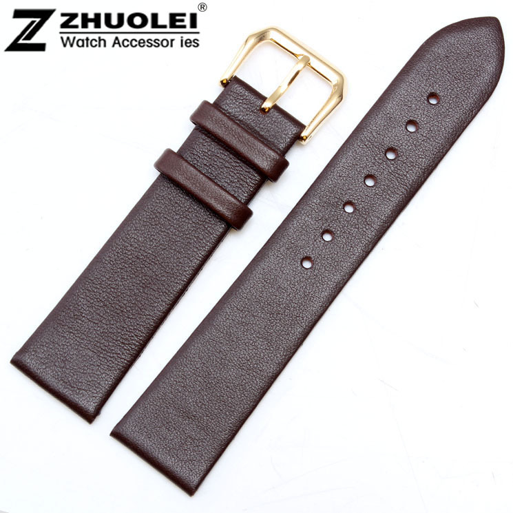 12mm 14mm 16mm 18mm 20mm 22mm Brown High Quality Mens Ladies Genuine Soft Leather Watch Band Strap12mm 14mm 16mm 18mm 20mm 22mm Brown High Quality Mens Ladies Genuine Soft Leather Watch Band Strap