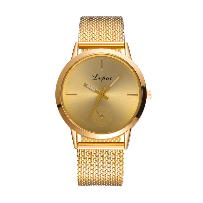 Newly Design Watch Women Girl Casual watch Alloy Quartz Silicone strap Band Watch Analog Wrist Watch Clock Montre Femme S18 (1)