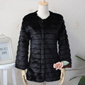 Autumn And Winter Faux Fur Coat Women Long Sleeve Faux Rabbit Fur Overcoat Women Slim Soft Outerwear Abrigos Mujer