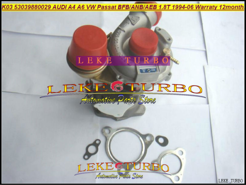 K03 53039700029 53039880029 53039880025 53039880005 Turbo Turbocharger For AUDI A4 A6 VW Passat B5 1.8L BFB APU ANB AWT AEB 1.8T turbo cartridge core k03 53039880029 53039880011 53039880044 53039880025 chra for audi a4 a6 vw skoda passat b5 seat exeo 1 8t