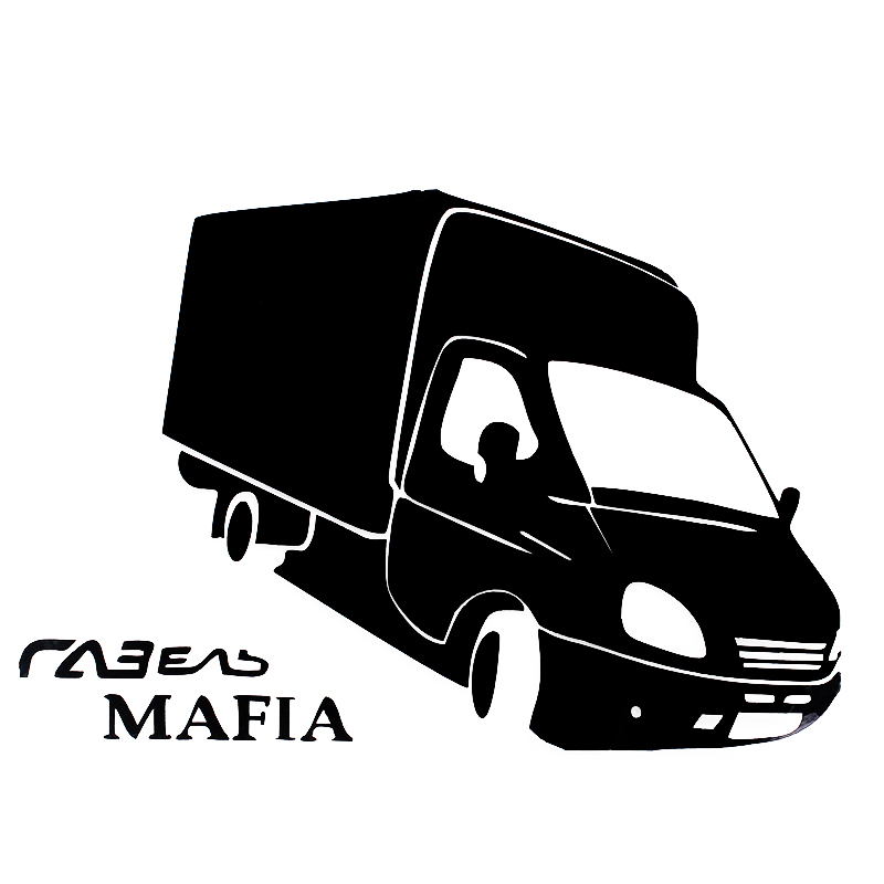 EY-053 GAZELLE MAFIA springbok car sticker and decals funny stickers 15*22cm Стикер