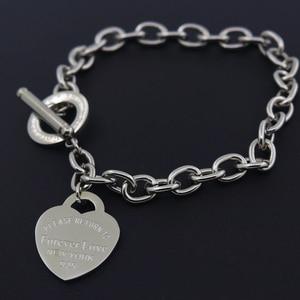 Hot Sale Buckle Design Bracelet New Style Brand Women Bracelet Gold Chain Heart Bangles Carter Bracelets Pulseira Fine Jewelry(China)
