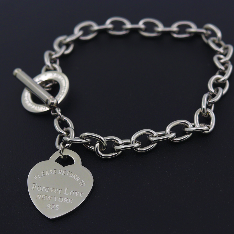 Hot Sale Carter Love Bracelet New Style Brand Women Bracelet Gold Chain Heart Bangles Carter Bracelets Pulseira Fine Jewelry
