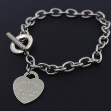 Hot Sale Carter Love Bracelet New Style Brand Women Bracelet Gold Chain Heart Bangles Carter Bracelets Pulseira Fine Jewelry