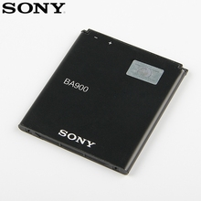 Original Replacement Sony Battery BA900 For SONY Xperia E1 S36H ST26I AB-0500 GX TX LT29i SO-04D C1904 C2105 Genuine 1700mAh sony original phone battery ba900 1700mah for sony xperia e1 s36h st26i ab 0500 gx tx lt29i so 04d c1904 c2105 retail package