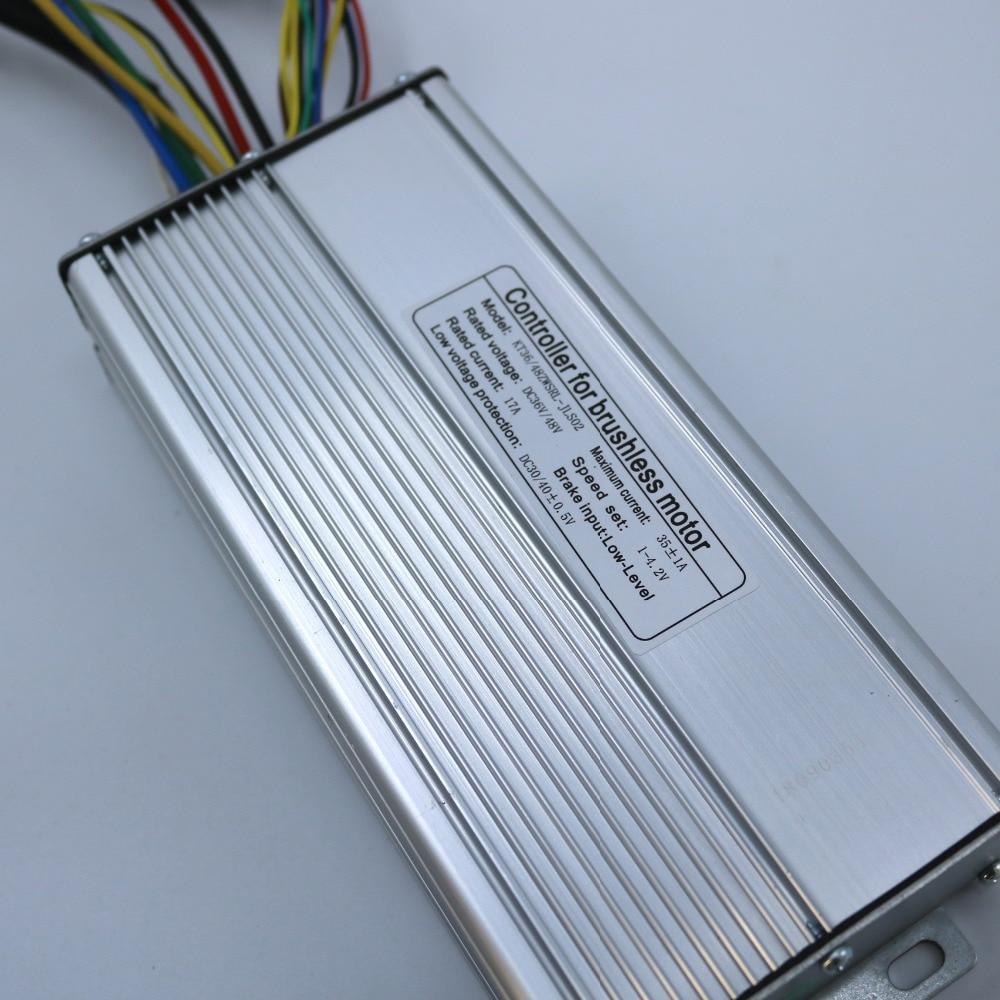 36 48V 800 1000W 35Amax Brushless DC Motor Controller Ebike LCD3 KUNTENG LCD Controller KT LCD3
