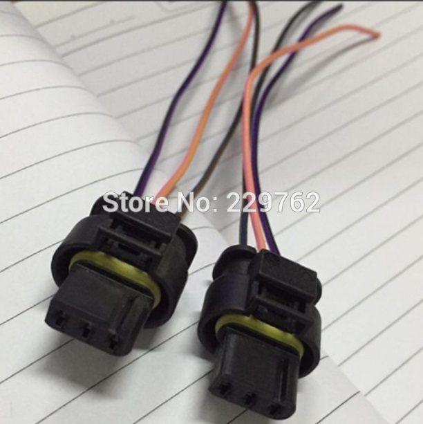 online shop 4pcs 3 pin auto flat housing connector plug car rh m aliexpress com