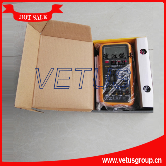 VC9808A+ True RMS Manual Digital Avometer with Multimeter Specifications tester