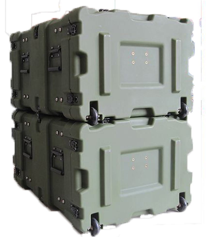 Tricases Shanghai Factory Waterproof Anti-crash Roto Shock Rack Case 11U High Military Standard RU110