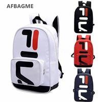 AFBAGME 2019 брендовый дизайнерский рюкзак с надписью модные повседневные дорожные сумки в стиле унисекс пара Рюкзак Студенческая сумка для ком...