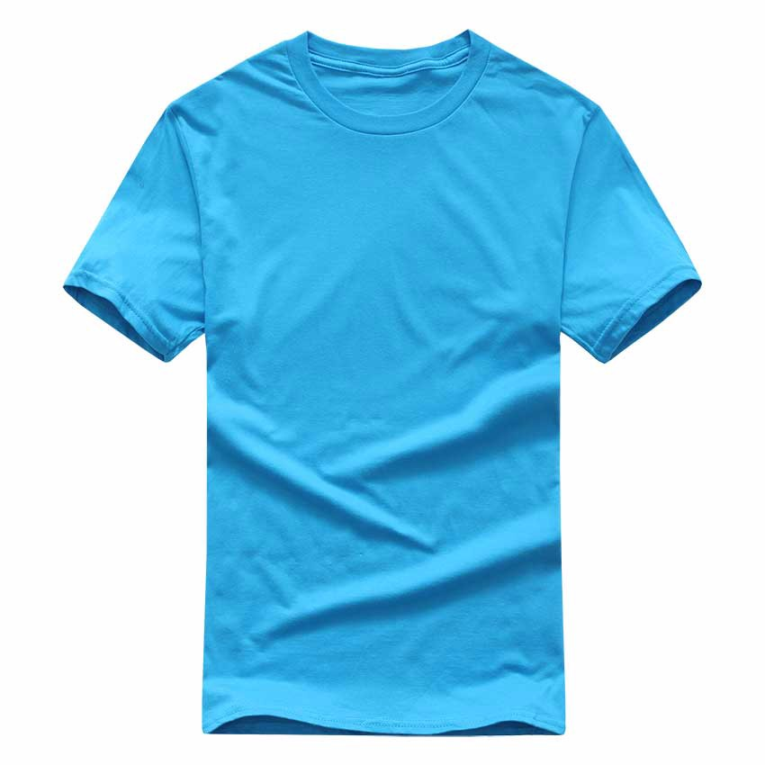 19 New Solid color T Shirt Mens Black And White 100% cotton T-shirts Summer Skateboard Tee Boy Skate Tshirt Tops European size 5