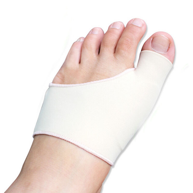 Bunion Gel Sleeve Hallux Valgus Device Foot Smärtlindring Fodvård Silikoninsulor Orthotics Överlappande Big Toes Correction