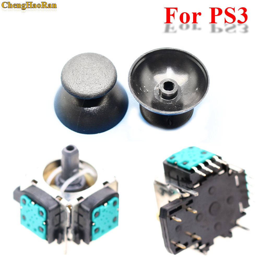 2-sets-3d-analog-joystick-4pin-sensor-module-potentiometer-with-thumb-sticks-for-sony-font-b-playstation-b-font-3-ps3-controller-repair-parts