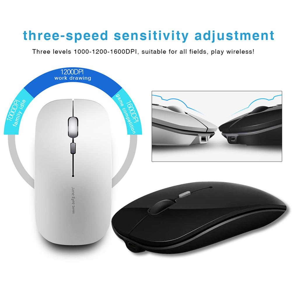 M815 Rechargeable 2.4 G Wireless Bluetooth Dual Mode Mouse Office Mute Laptop Unlimited Gaming Ultrathin Mouse