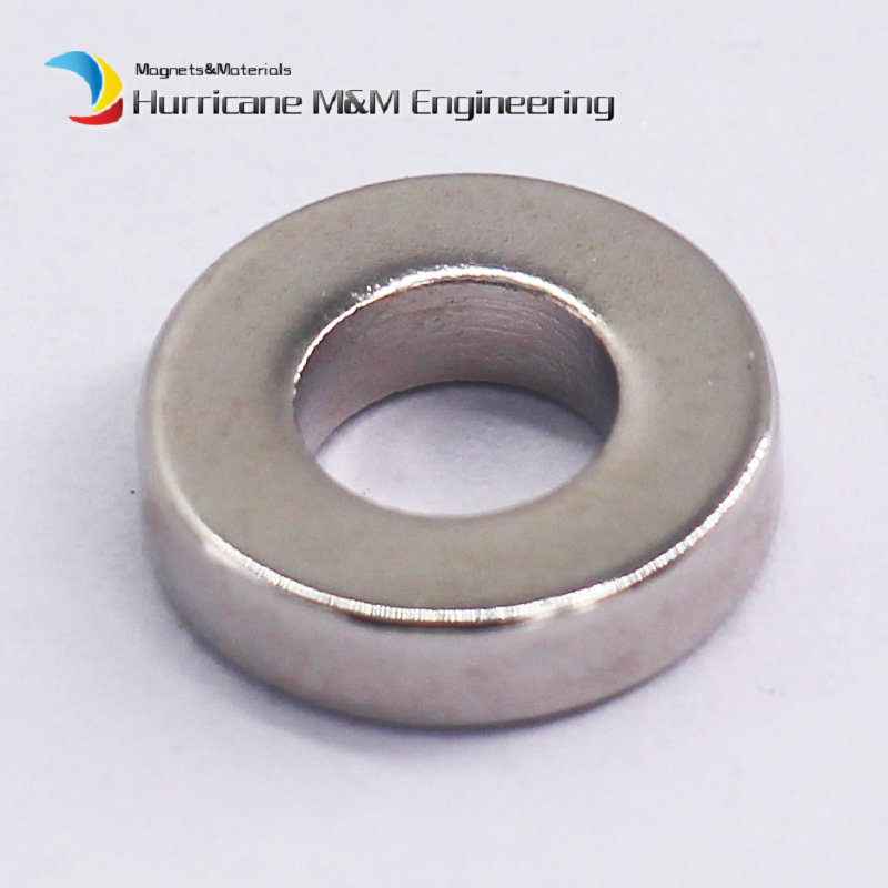1 Pack NdFeB Magnet Ring OD 12x6x3 (+/-0.1)mm Dia. 0.47 Strong Neodymium Permanent Magnets Rare Earth Magnets Grade N42 mixed ring pack 10pcs