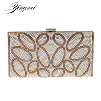 Messenger Women Chain Shoulder Bags Evening Bags Metal Day Clutches Purse Hadnbags With Chain Pearl Imitation