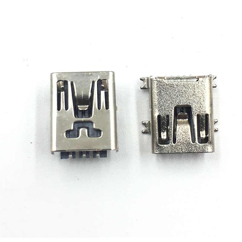 10 قطعة 4Pin 2Pin USB صغير شحن المقبس حوض ميناء موصل ل PS3 المراقب المالي