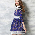 European high-end high-quality clothing, beautiful woman full of pure embroidery side stitching Ms. formal wear   do287