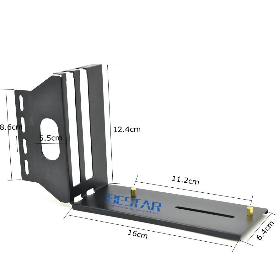 Graphics Card Bracket Riser Fixed Vertical ATX Case PCI-E 16x Internal Holder