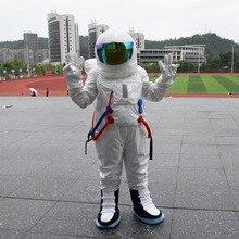 熱い販売!高品質宇宙服マスコット衣装宇宙飛行士マスコット衣装でバックパックでロゴ手袋、靴