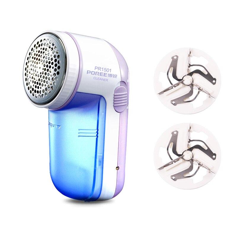 Flyco dissolvant de peluches Machine électrique Maquina chandail rasoir pilule tissu rasoir granule Rechargeable et 2 tête de coupe 2019 PR1501