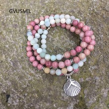 Fashion Women`s Matte 108 6MM Beads Bracelet High Quality Charm New Design Yogi
