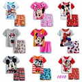 New Summer Cartoon Suits Boys Tiger Pajamas Baby Printed Pijamas sets Pyjamas Cotton Children Clothing set Kids Sleepwears