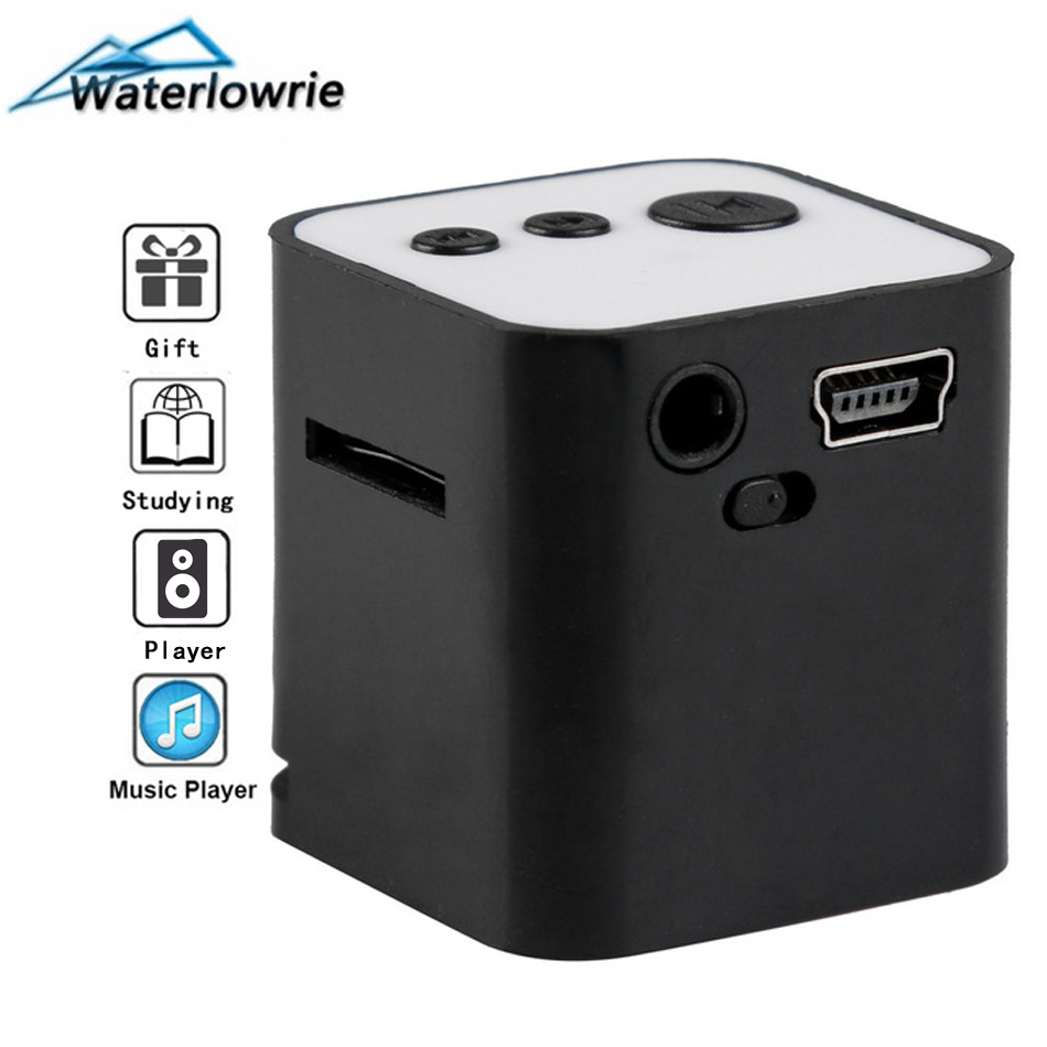 Waterlowrie Portablei Music <font><b>MP3</b></font>-<font><b>Player</b></font> Min <font><b>MP3</b></font> <font><b>Player</b></font> walkman Built-in Speaker mp 3 Support 8G <font><b>Micro</b></font> <font><b>SD</b></font>/TF Card for Holiday Gift image