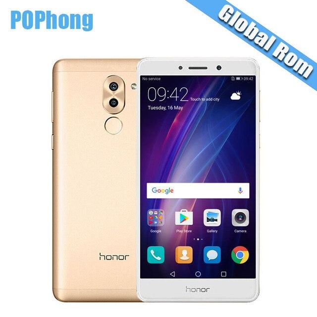 Global ROM Huawei Honor 6X GR5 3GB/4GB RAM 32GB/64GB ROM Dual Rear Camera Cell Phone 5.5 inch Kirin 655 Octa Core Android 7.0 S