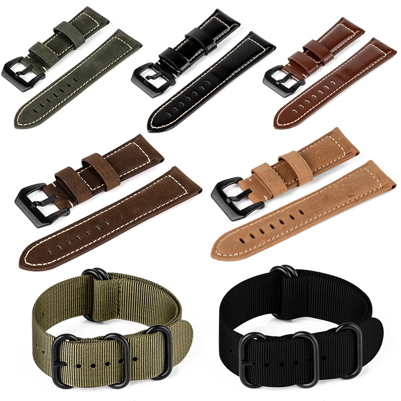 Durable Nylon Woven Leather Watchbands Replacement Wrist Support Watch Band Strap Belt For Garmin Fenix 3 Watch Bracelet canvas nylon watchband tool for garmin fenix 5 forerunner 935 fr935 leather watch band sports strap steel buckle bracelet