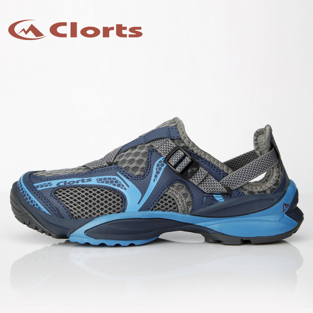 Clorts 2017 Women Summer Aqua Shoes Breathable PU Water Shoes Fast Drying Upstream Outdoor Shoes 3H011
