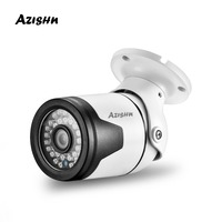 AZISHN H.265 3MP Metal IP Camera Sony IMX307 2304x1296 36IR Onvif P2P Motion Detection RTSP Surveillance CCTV Outdoor XMEye