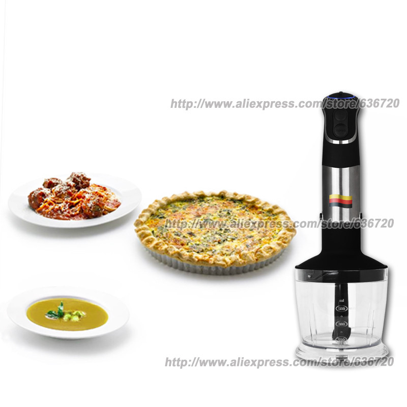 Image 4 - 850W GERMAN Motor Technology electric Hand blender MQ735, Chopping ,Whip, beat, stir, mixer, Smart Stick food processors-in Blenders from Home Appliances