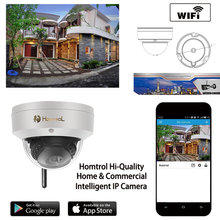 Dome Wifi Indoor or Outdoor Fixed Dome Cameras with IP66 Weatherproof Day/Night Vision IRCut Night Vision P2P Security IP Dome