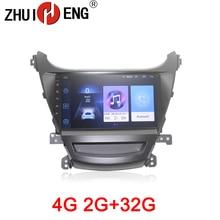 HANGXIAN 2G+32G Android 8.1 Car multimedia for Hyundai Elantra 2014 foreign car dvd player gps navi accessory 4G internet