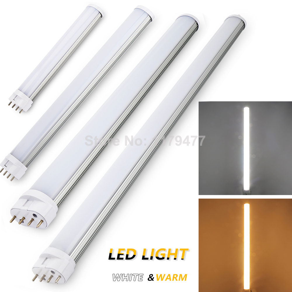 4pin 2g11 led tube light 12w 15w 18w 25w smd2835 ac85 265v cold white warm white high power smd. Black Bedroom Furniture Sets. Home Design Ideas