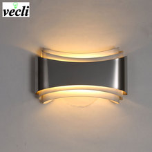 купить Modern LED Wall Lamp For  Bedroom 5W Wall Sconce living room  AC85-265V LED Wall Light Indoor Lighting Corridor Balcony  Sconce дешево