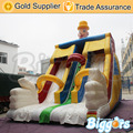 Sea Shipping Durable Inflatable Double Lane Water Slide Jump House Slide Bouncing Slide