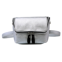 PU Leather Zipper Waist Bags Women Phone Purse Cases Shoulder Bags Ladies Shopping Bag Female Sac