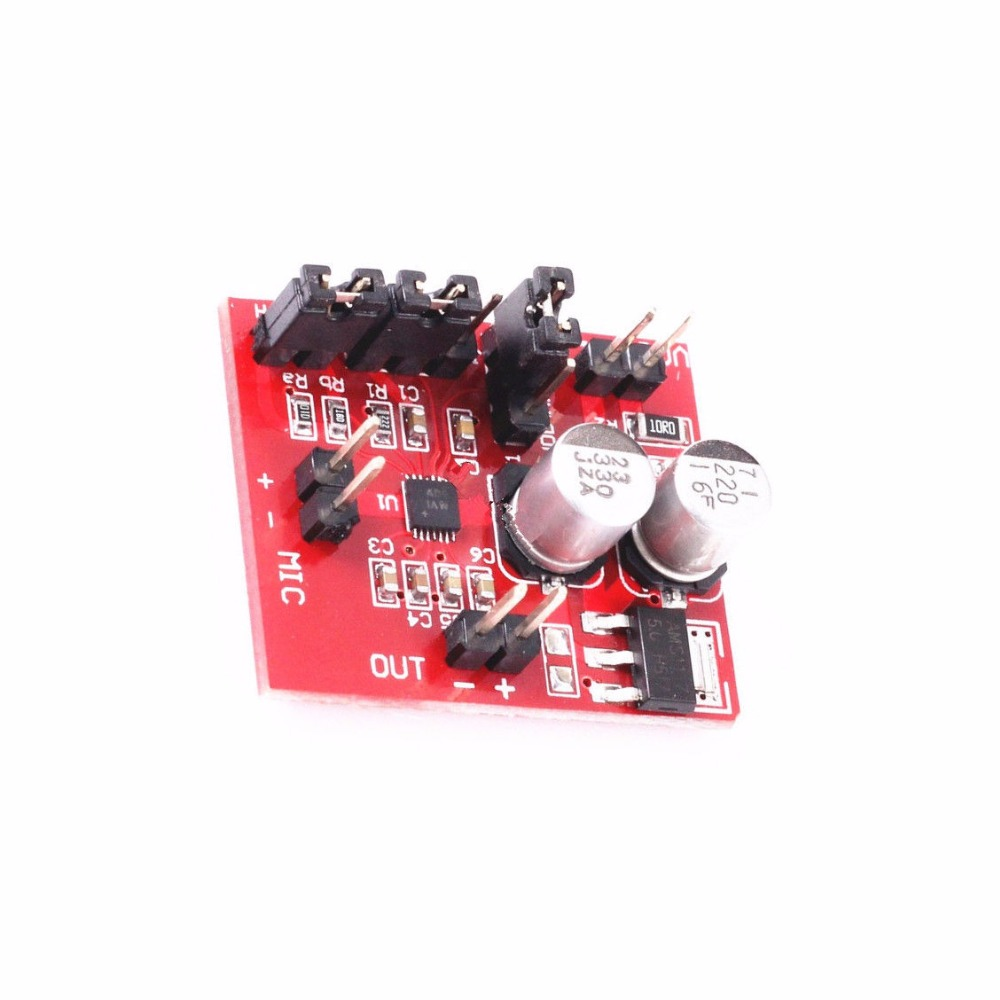 Hot Sale Dc 36 12v Max9814 Electret Microphone Amplifier Module Agc Arduino Circuit Function For