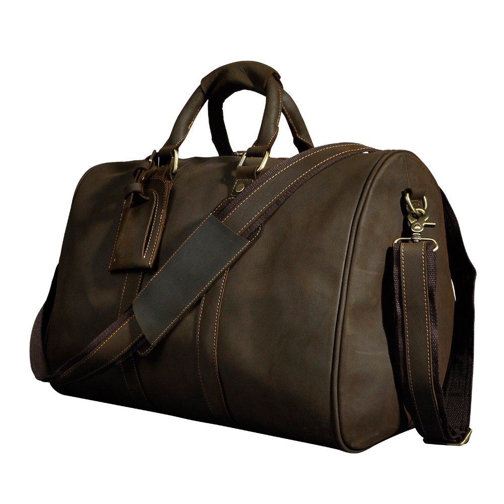 Fashion Retro Handmade Original Leather Designer Casual Suitcase Duffle Travel bag Male Travel Luggage Tote Shoulder Bag 3037Fashion Retro Handmade Original Leather Designer Casual Suitcase Duffle Travel bag Male Travel Luggage Tote Shoulder Bag 3037