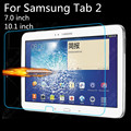 Vidrio templado para el samsung galaxy tab 2 7.0 10.1 pulgadas P3100 P3110 P5100 P5110 Tab2 Tablet Protector de Pantalla Película Protectora guardia