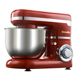 Image 2 - 1200W 4L HA CONDOTTO LA luce 6 velocità Da Cucina Cibo Elettrica Mixer Stand Frusta Frullatore Della Torta di Pasta di Pane Mixer Maker macchina